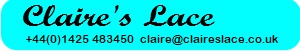 Claire's Lace - Lace making supplies
