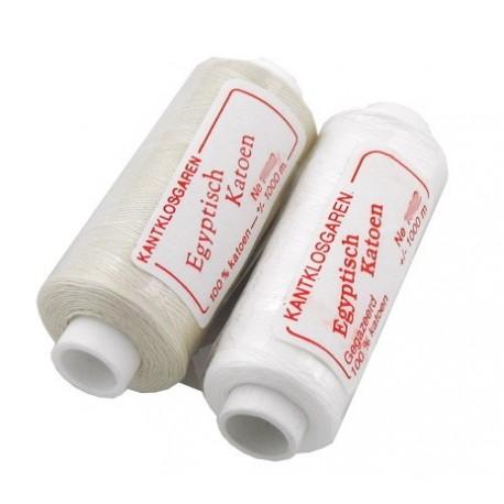 Egyptian Cotton 160/2 1000m spool optic white