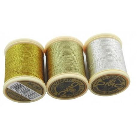 DMC Fil Metallise Metallic Thread 40m spool