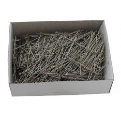 Medium Fine Nickel Plated Steel Short Flanders 34mm x 0.60mm  100g box