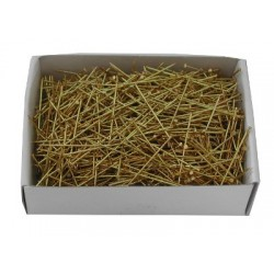 Medium Yellow Brass Torchon 26mm X 0.65   100g box