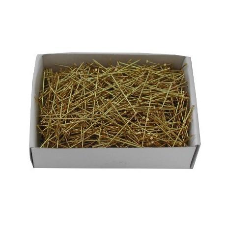 Medium Yellow Brass Torchon 26mm X 0.65   100g box