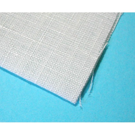 Cotton Batiste 90cm x 50cm White