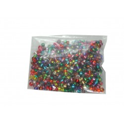 Rocaille size 8 and 12 mixed colour beads
