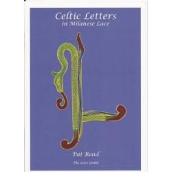 Celtic Letters by Pat Read (Lace Guild)