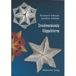 Dreidimensionale Kloppelsterne by Rosemarie Schmuck and Anneliese Schroder