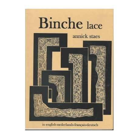 Binche Lace bronze colour by Annick Staes