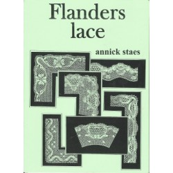 Flanders Lace green folder by Annick Staes
