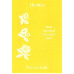 Honiton- basic technical instruction book (Lace Guild)