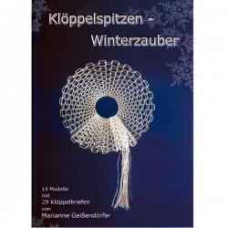 Kloppelspitzen Winterzauber by Marianne Geissendorfer