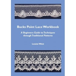 Bucks Point Lace Workbook by Louise West