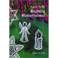 Gekloppelter Weihnachtsschmuck by Brigitte Bellon