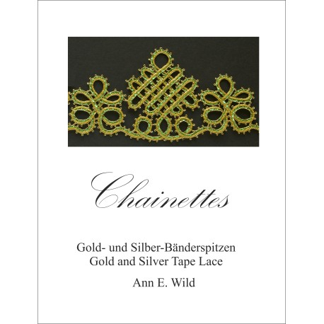 Chainettes Gold and Silver Tape Lace by Ann Wild