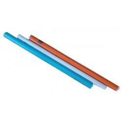 Blue, Orange and Clear Matt Film 450mm wide